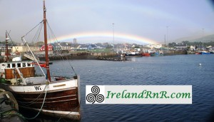 IRELAND RNR LOGO DINGLE RAINBOW
